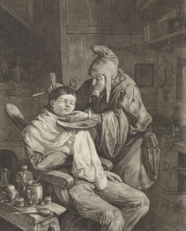 Корнелис Дюсарт. Деревенский лекарь