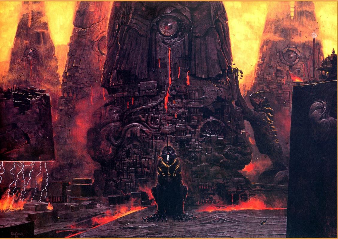 Уэйн Дуглас Барлоу. Смотровая башня