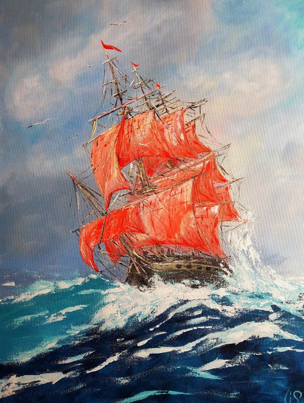 Irina Stukaneva. Scarlet Sails