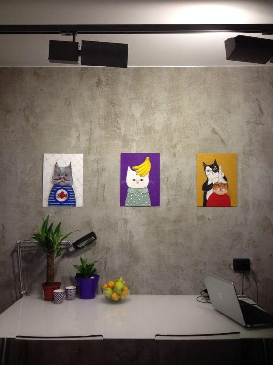 Kamila Orlova. Cats