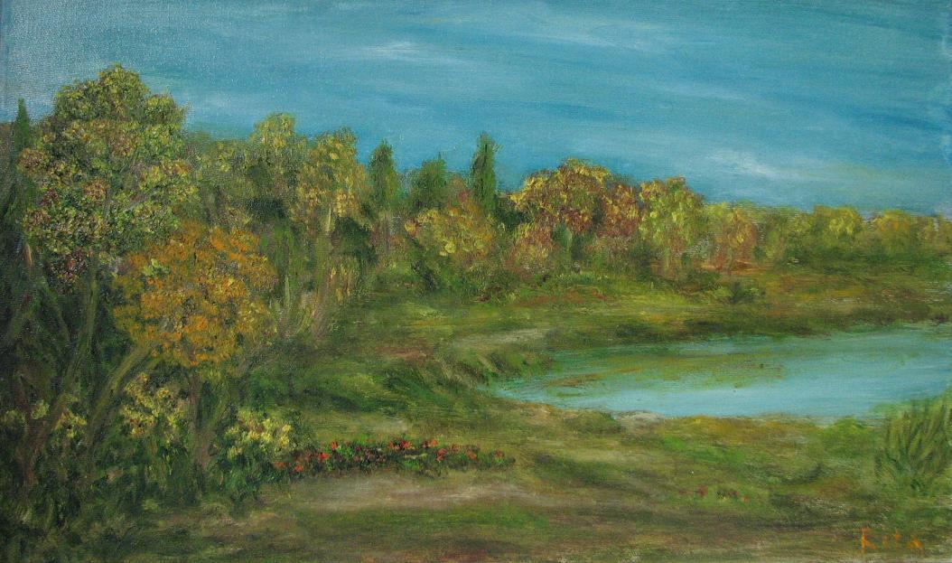 Рита Аркадьевна Бекман. Осень на берегах Южного Буга