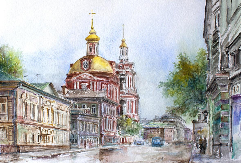 Сергей Владимирович Дорофеев. Moscow, Old Basmannaya street