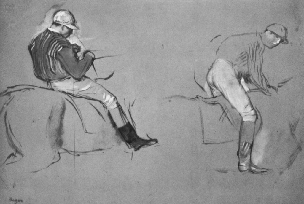Эдгар Дега. Два жокея
