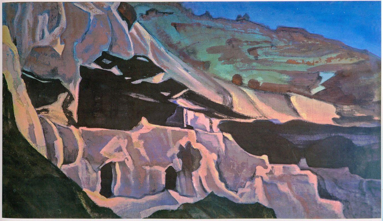 Nicholas Roerich. Ellora