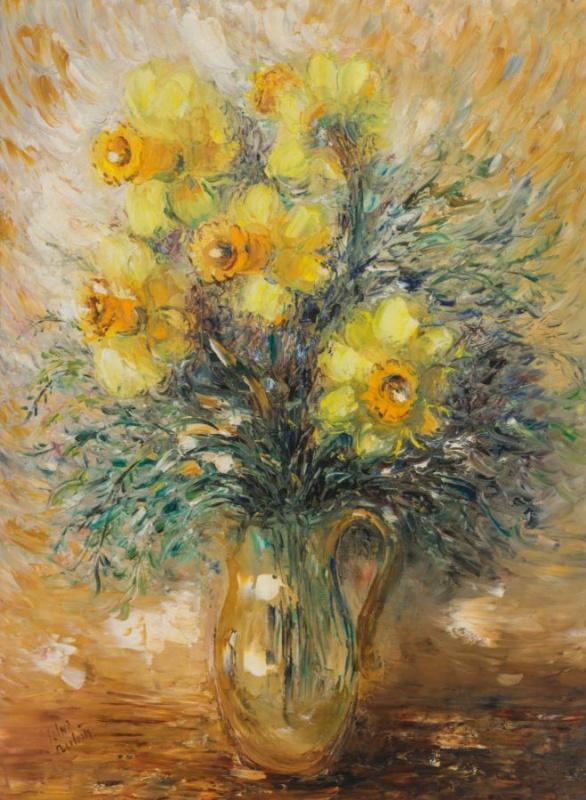 Reuven Rubin. Daffodils