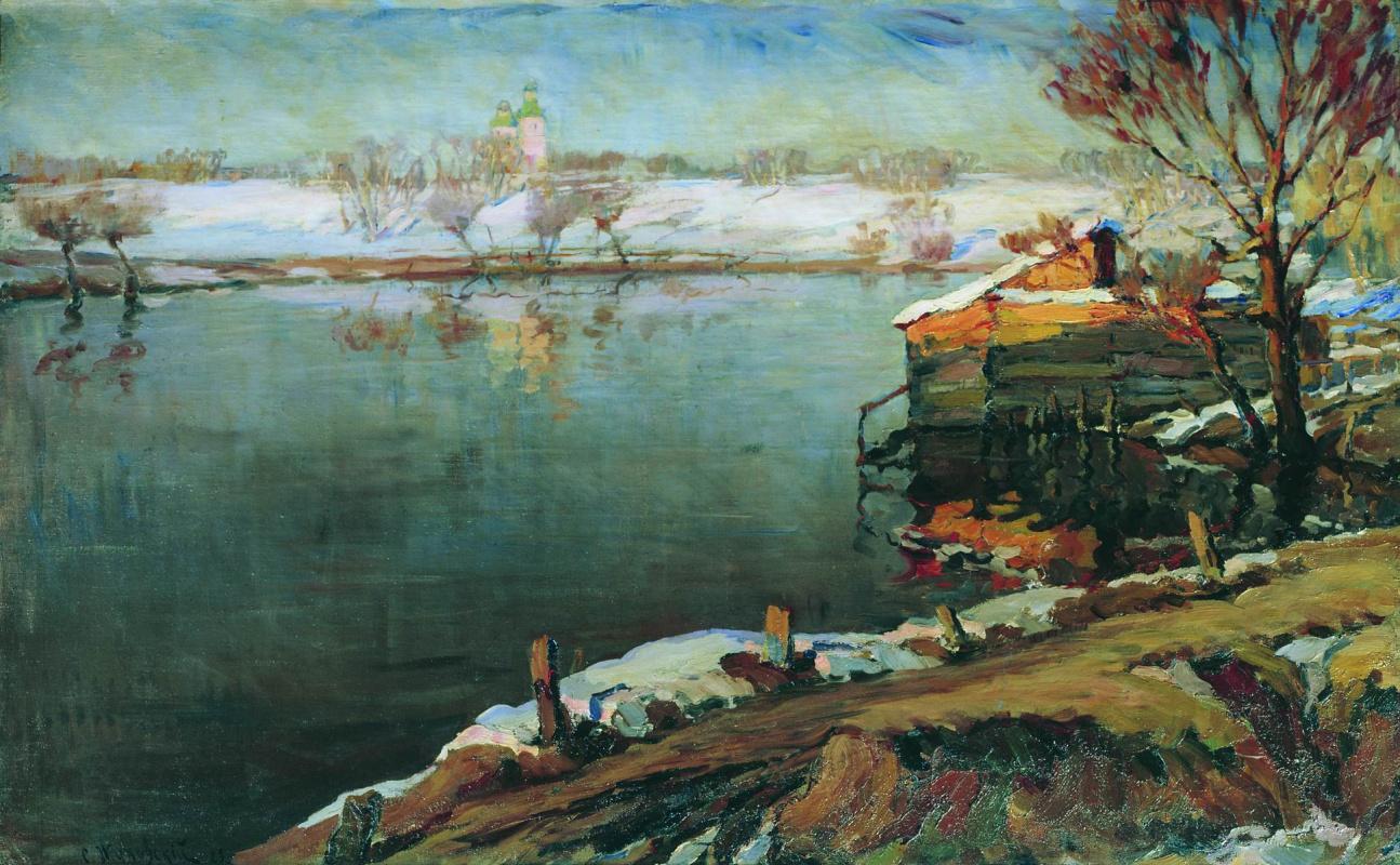 Станислав Юлианович Жуковский. Весна