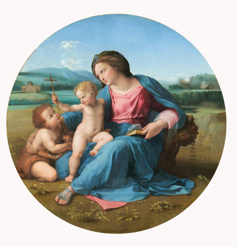 Raphael Santi. The Alba Madonna