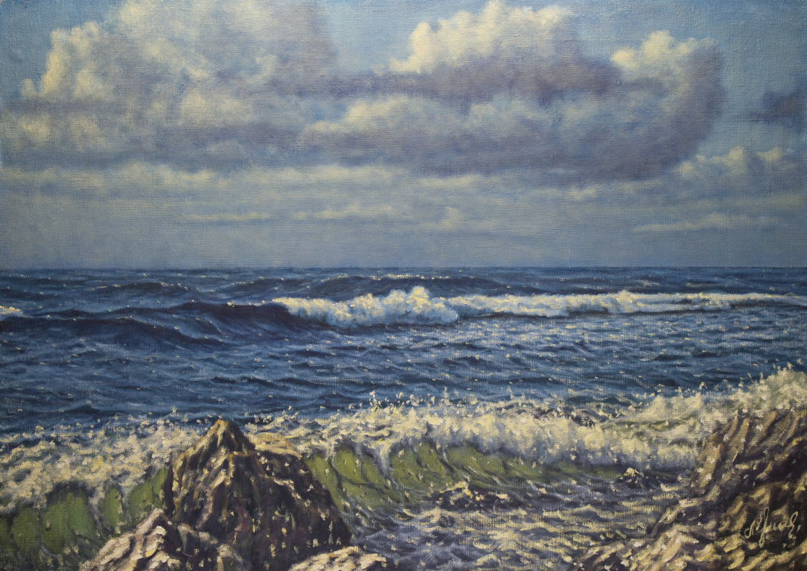 Valery Levchenko. No. 460 Seascape
