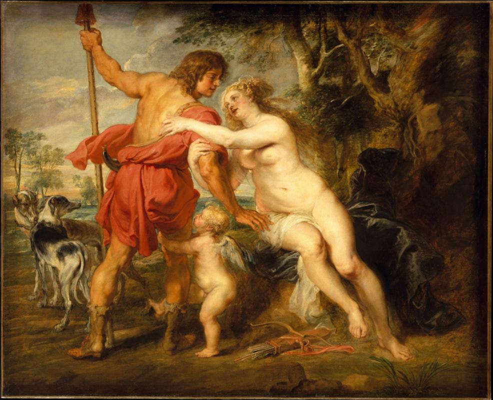 Питер Пауль Рубенс. Венера и Адонис