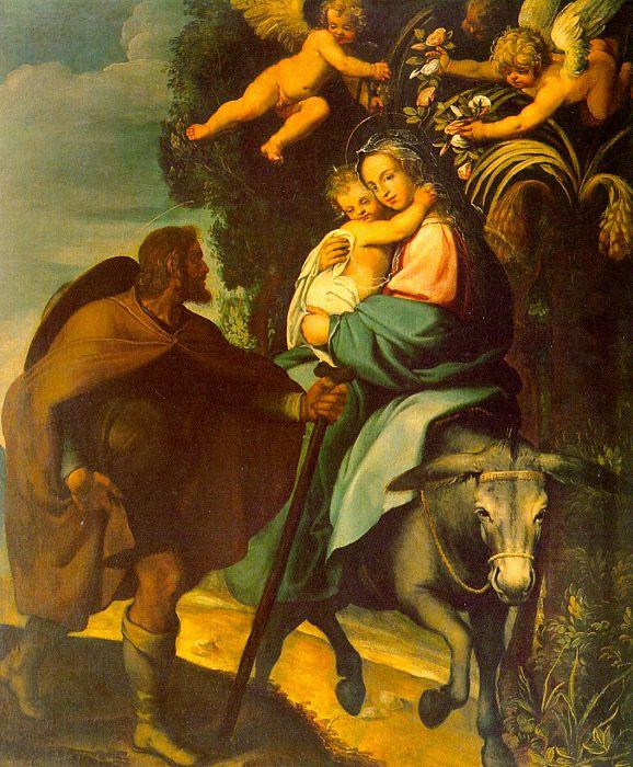 Винченцо Кардуччи. Мадонна с младенцем