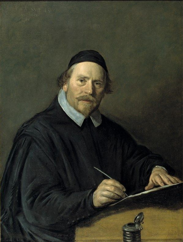 Frans Hals. Portrait of Pastor Nicholas van der Wall