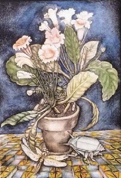 Vladimir Petrovich Chernov. Цветок
