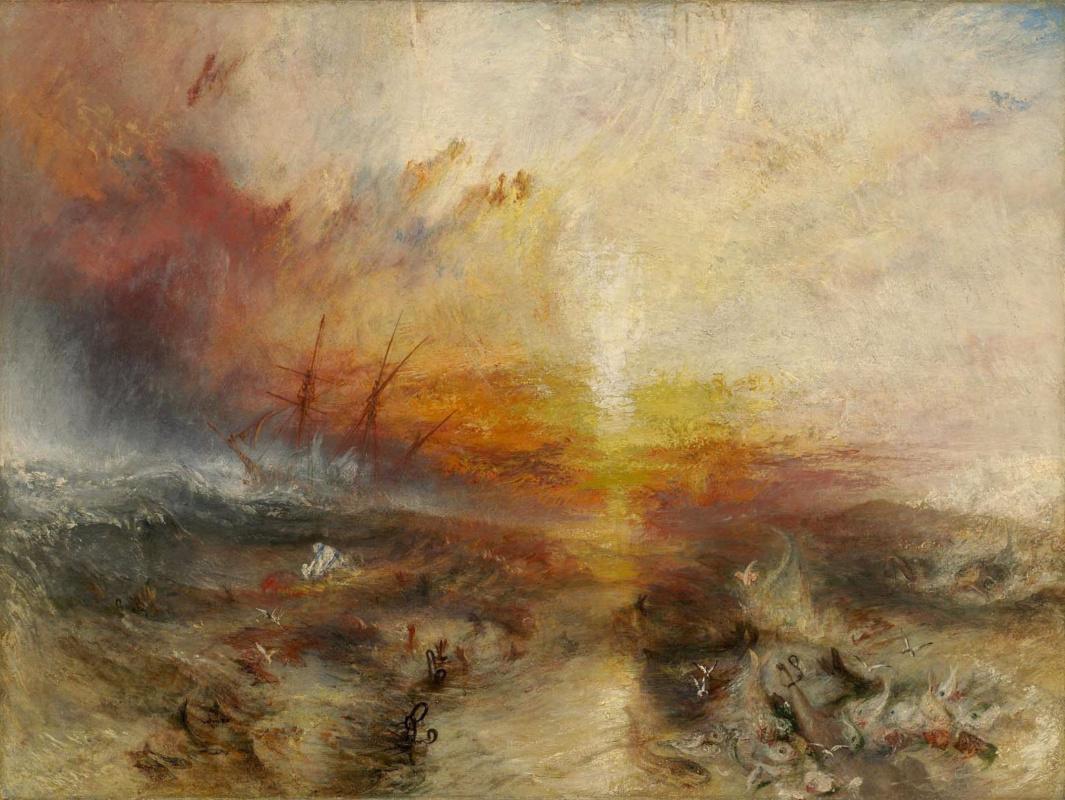 Joseph Mallord William Turner. Slave ship