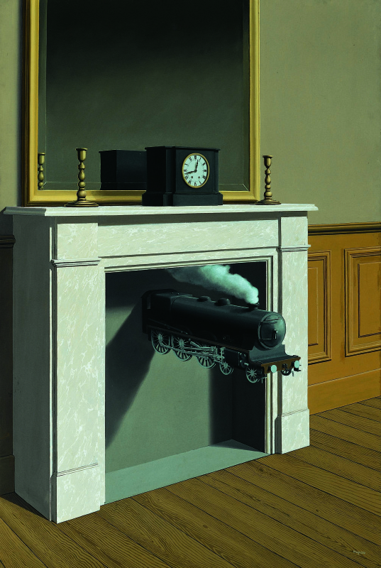 René Magritte. Time Transfixed
