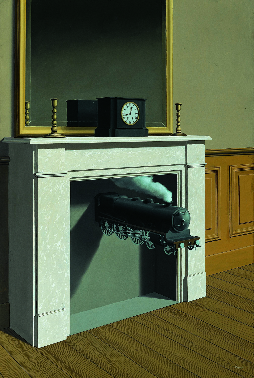 Rene Magritte. Time Transfixed