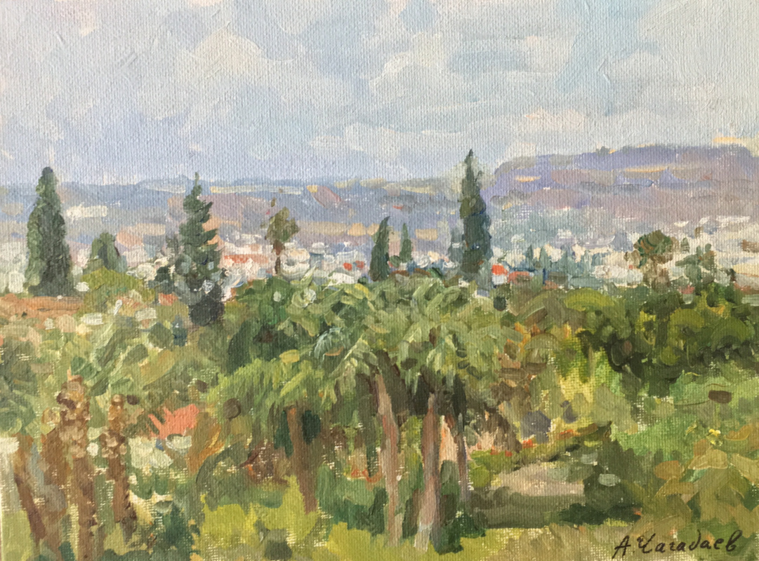 Aleksandr Chagadaev. Cyprus
