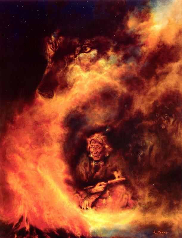 Уэйн Терри. Пламя