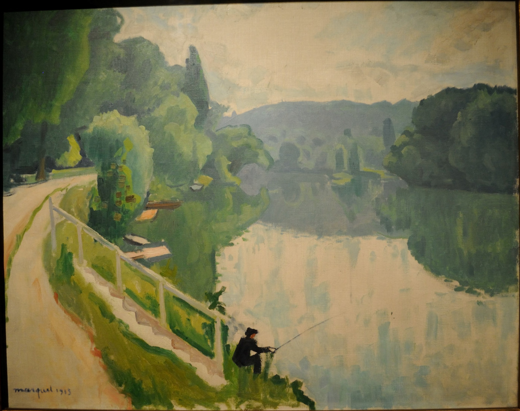Albert Marquet. Fisherman in La Varenne.