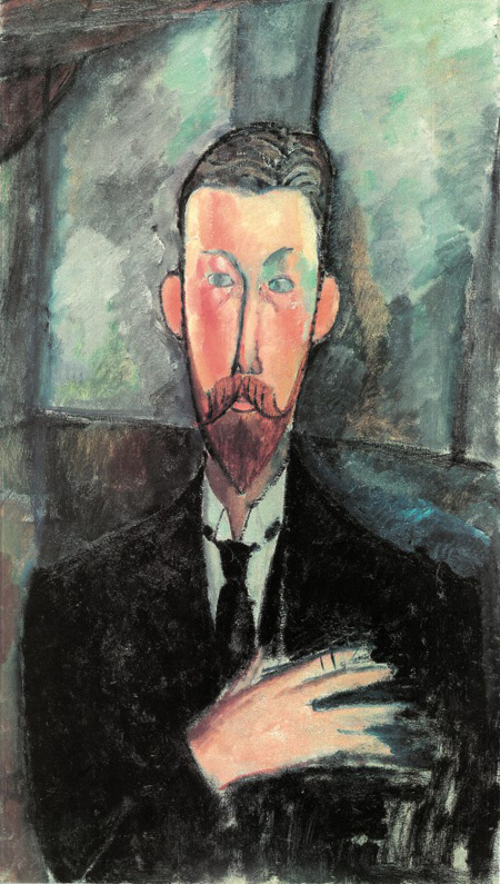 Амедео Модильяни. Портрет Поля Александра перед окном