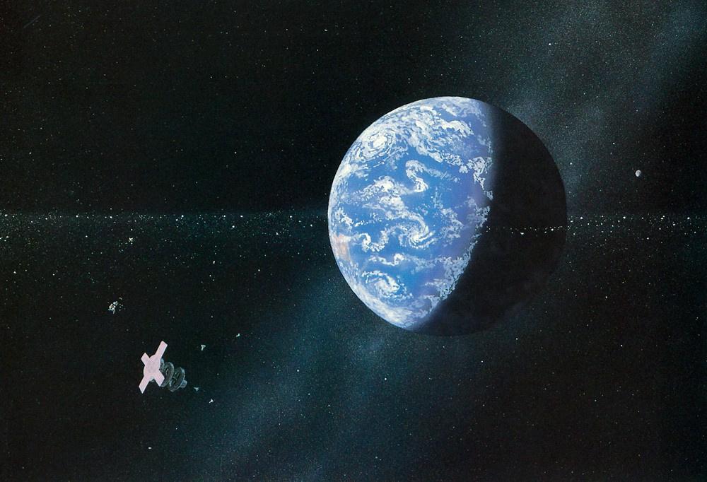 Уильям Хартманн. Космическое пространство