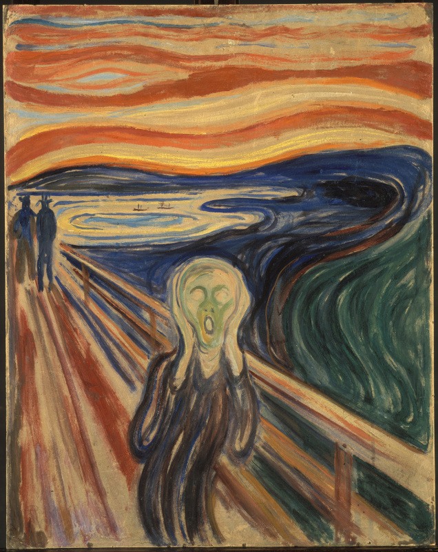 Edvard Munch. Creek