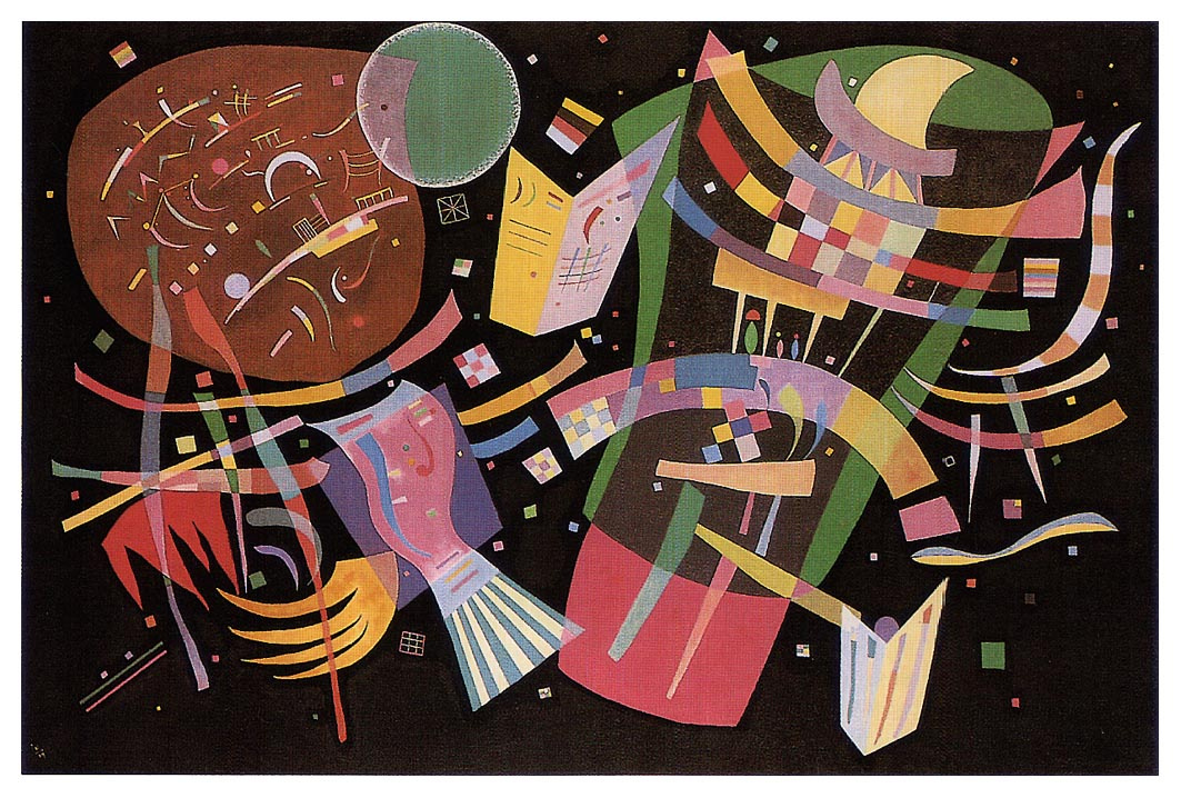 Wassily Kandinsky. Composition 10