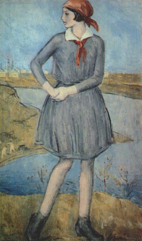 Николай Чернышов. Молодой пионер