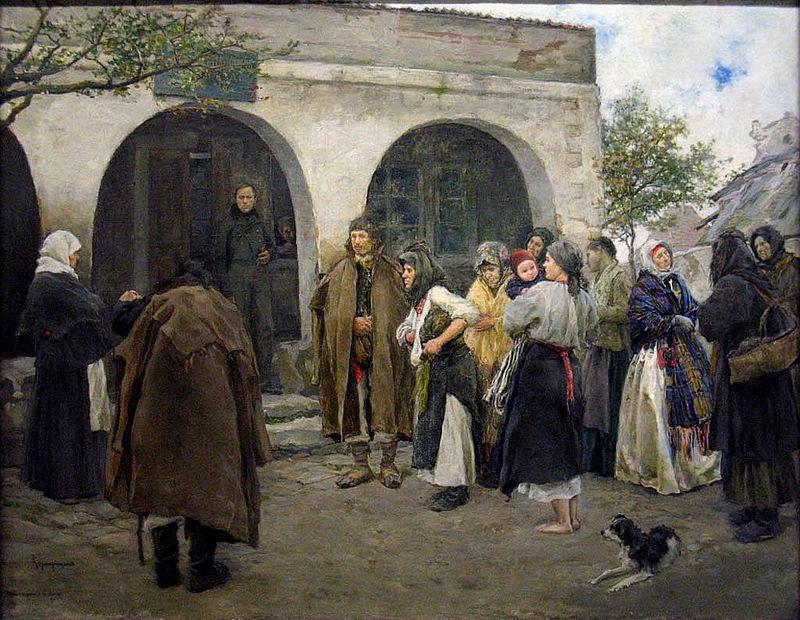 Афанасий Прокопиевич Размарицын. У нижнего земского суда