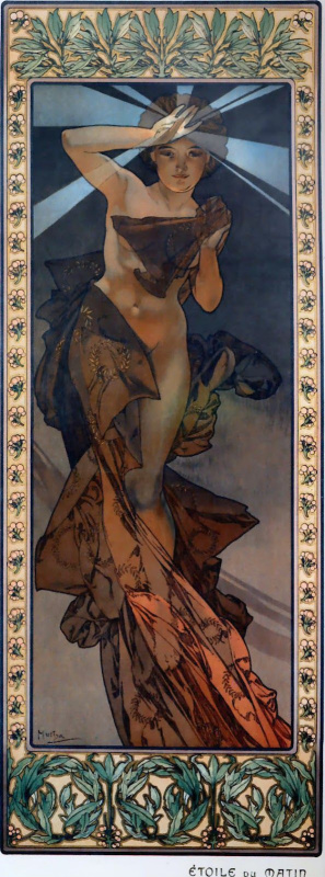 Alfons Mucha. Morning star