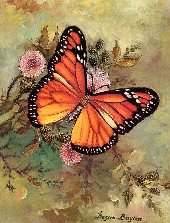 Бенджи Баулон. Бабочка