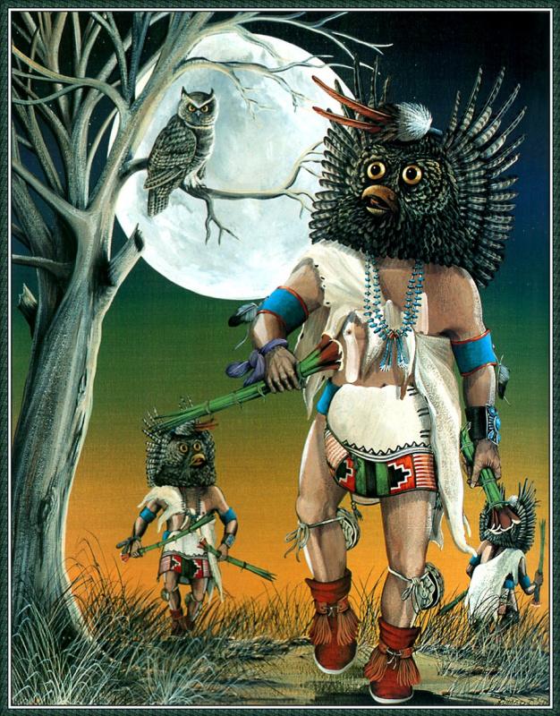 Дуэйн Дишта. Пришествие большой рогатой совы
