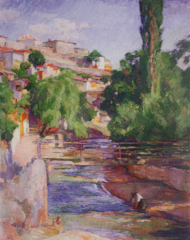 Осип Эммануилович (Иосиф) Браз. Пейзаж. 1912