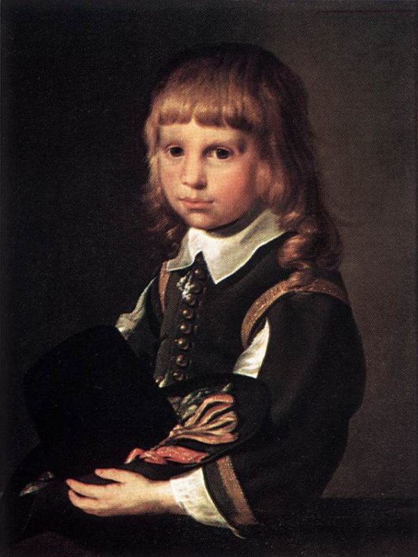 Питер Кодде. Портрет ребенка