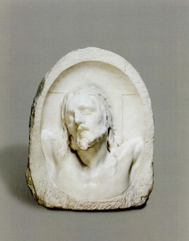 Mark Matveyevich Antokolsky. Last breath (Christ on the cross)