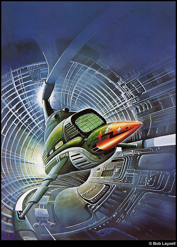 Боб Лаузелл. Космический корабль 18