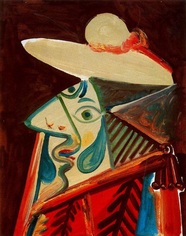 Пабло Пикассо. Бюст пикадора