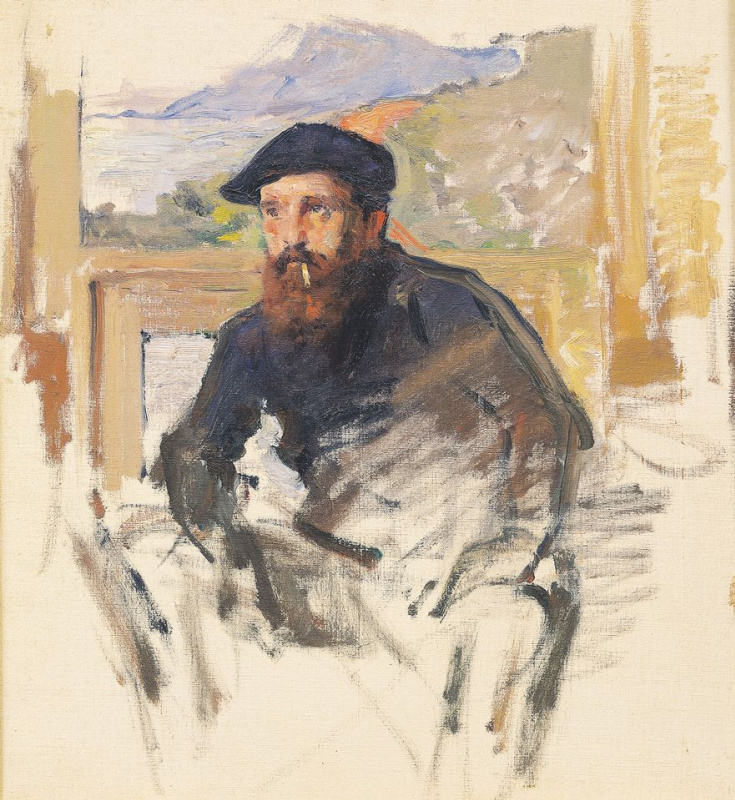 Claude Monet. Portrait of Claude Monet (author - Charles Giraud)