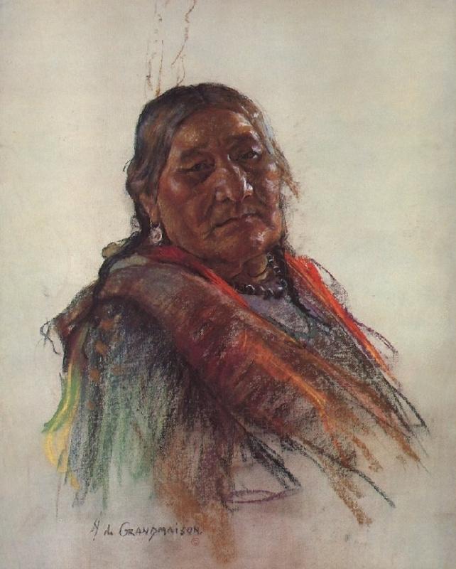Индейский портрет 56