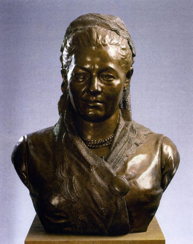 Mark Matveyevich Antokolsky. Portrait of an elderly woman