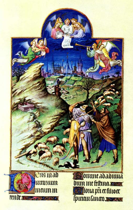 Благовещение пастухам
