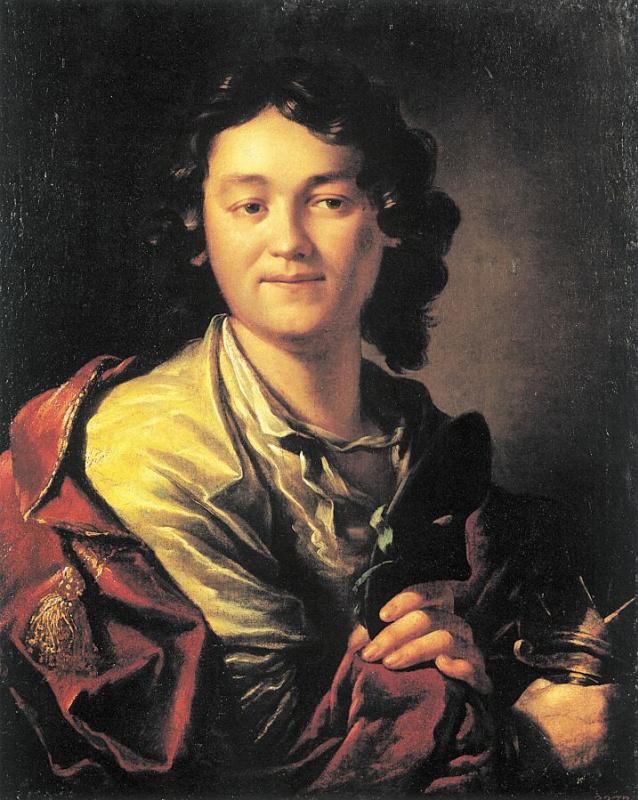 Антон Павлович Лосенко. Портрет молодого человека