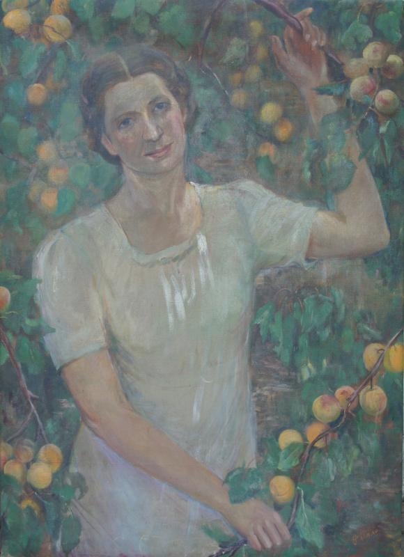 Антонина Петровна Рылло. Девушка в саду