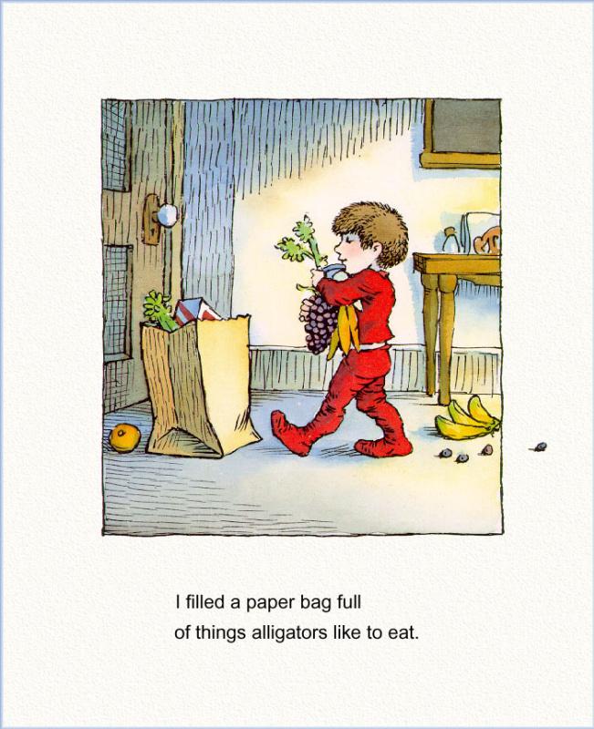 Мерсер Мейер. Иллюстрация к книге Там крокодил под моей кроватью 10