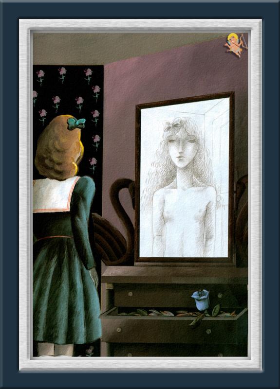 Алена Готье. Отражение в зеркале