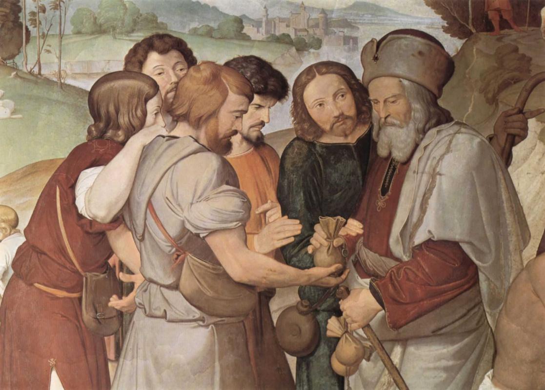 Иоганн Фридрих Овербек. Братья продают Иосифа