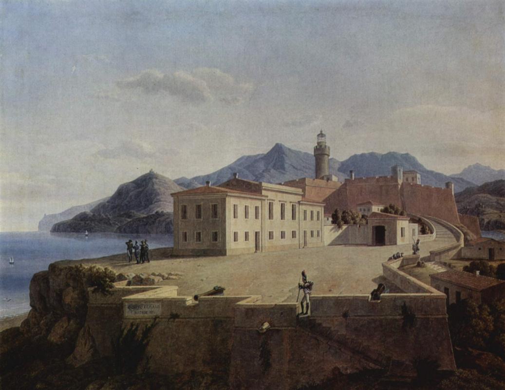 Лео фон Кленце. Наполеон в Портоферрайо