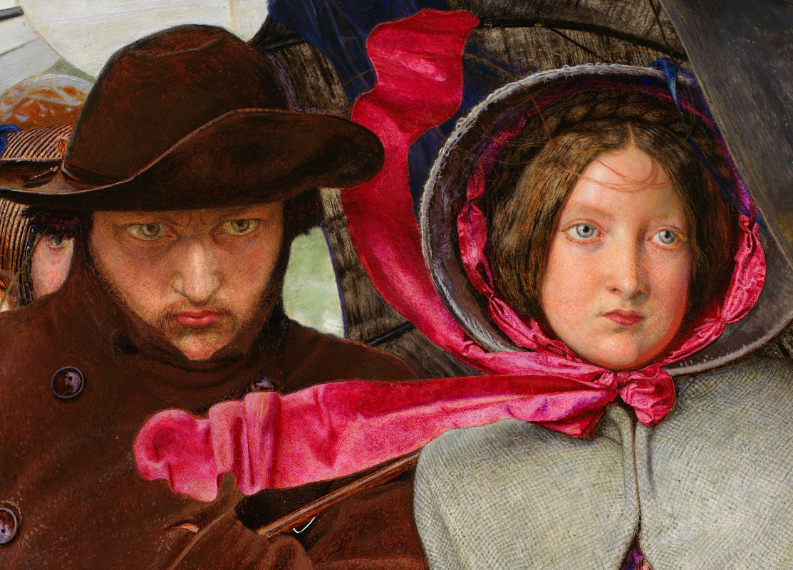 Ford Madox Brown. The last of England. Fragment VI
