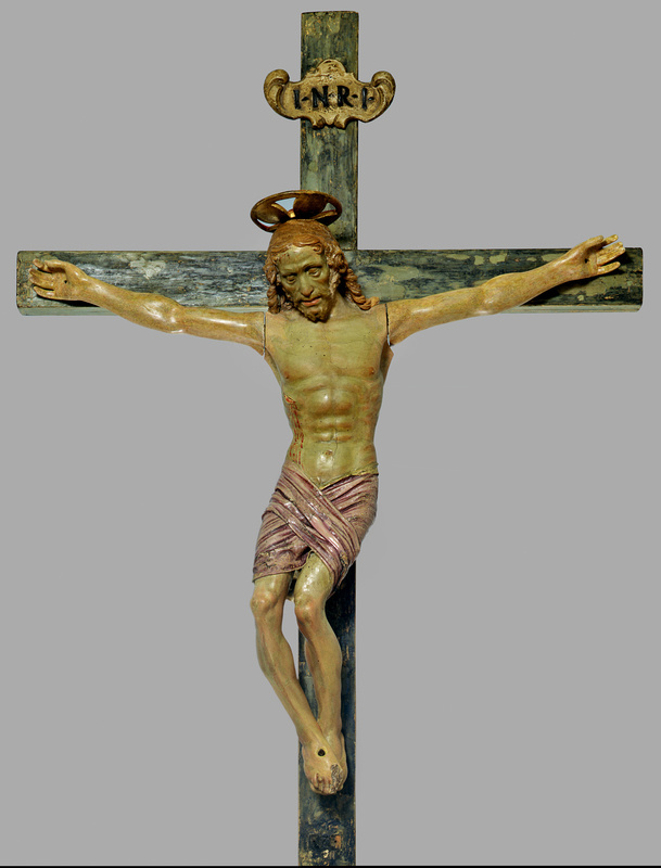Андреа дель Вероккьо. Crucifixion of Christ