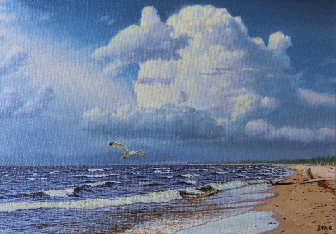 Michael Besedin. Before the storm.