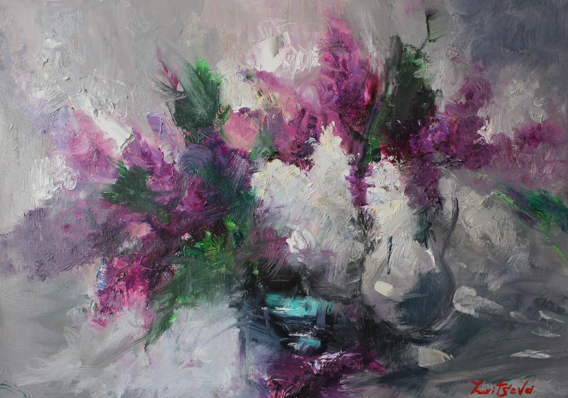 Tanusha Zaitseva. Lilac dreams